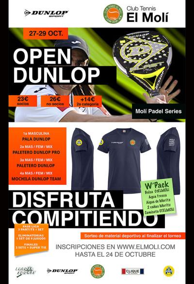 Open Dunlop El Molí